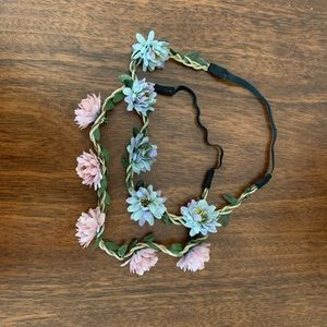 Other - Set of 2 flower crown/headbands